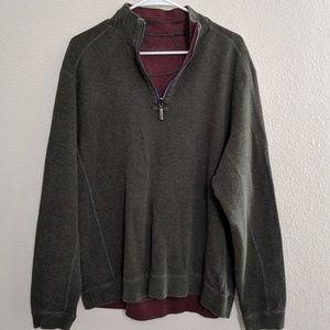 Tommy Bahama Pullover Sweater Reversible Top